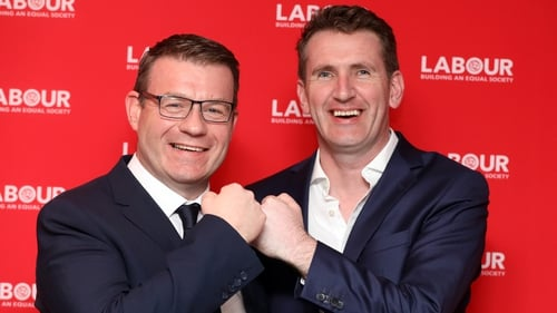 Alan Kelly and Aodhán Ó Ríordáin are vying for the position to lead the party (RollingNews.ie)