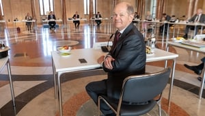 German Vice-Chancellor and Finance Minister Olaf Scholz