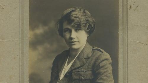 May Gibney in her Cumann ma mBan uniform. Courtesy of Kilmainham Gaol Museum/OPW 19PO-1A22-27