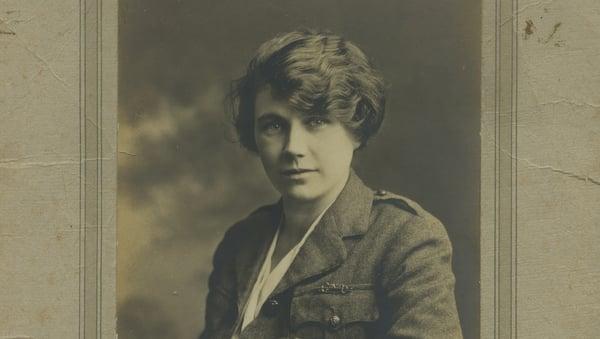 May Gibney in uniform Courtesy of Kilmainham Gaol Museum/OPW 19PO-1A22-27