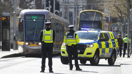 Gardaí have already been carrying out additional checkpoints around the country (Pic: Rolling News)