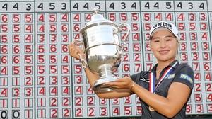 Winner of the 2019 US Open Jeongeun Lee6