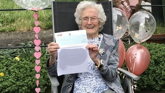 Margaret's 100th Birthday