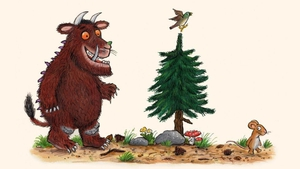 The Gruffalo has been reimagined to help children understand the new normal (Pics: Axel Scheffler and Julia Donaldson)