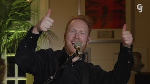 Gavin James rocks the house to raise awareness for the charity Alone