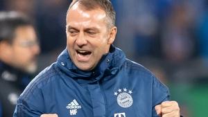 Hansi Flick is sticking with Bayern