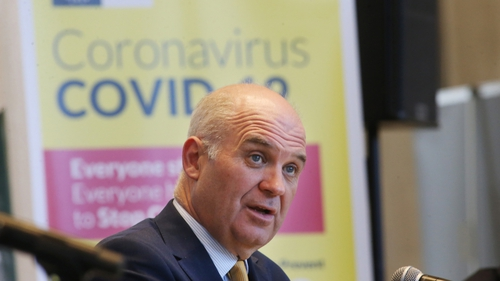 Chief Medical Officer Tony Holohan said supporting the response in nursing homes remains a priority (RollingNews.ie)