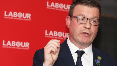Labour leader Alan Kelly said Fianna Fáil, Fine Gael and the Green Party should be given space and time