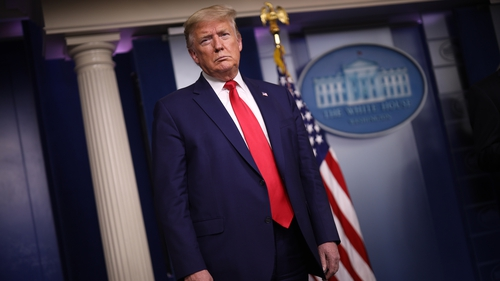 US President Donald Trump said 'Opening up America again' will be a gradual effort