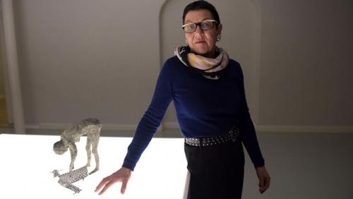 Janet Mullarney (Pic via Twitter/Taylor Galleries)