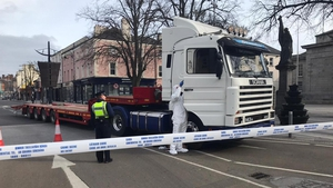 It is understood the raiders used a truckwith a trailer to transport the cash machines