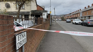 The shooting happened on Etna Drive in the Ardoyne area
