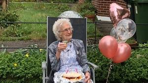 Margaret Lynch celebrating her 100th birthday this year