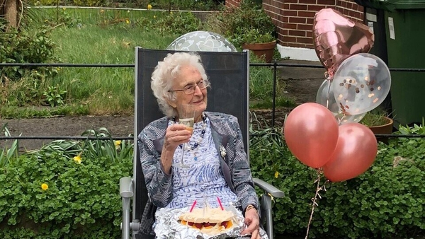 Margaret Lynch celebrating her 100th birthday this year