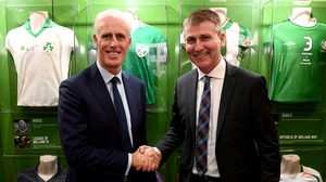 Mick McCarthy has handed the managerial baton on to Stephen Kenny