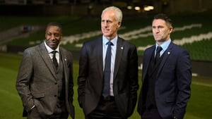 The new team of Terry Connor, Mick McCarthy and Robbie Keane
