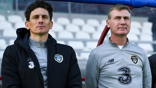 Keith Andrews and Stephen Kenny developed a strong working relationship while coaching the Republic of Ireland Under-21 side
