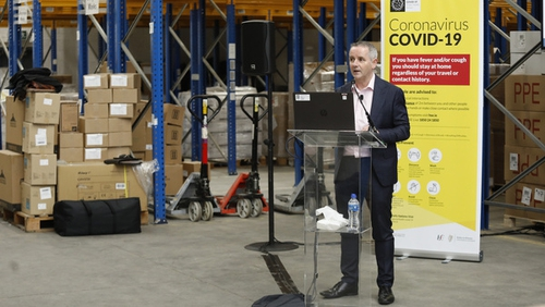 The HSE's Paul Reid said extra testing capacity would be available by the end of next week(Photo:Rolling News)