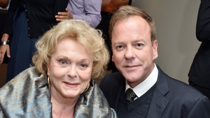 Kiefer Sutherland with his mother Shirley Douglas