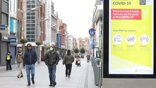 Another quiet morning on the streets of Dublin today (Pic: RollingNews.ie)
