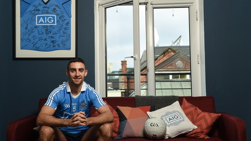 James McCarthy is chasing an eighth All-Ireland senior medal
