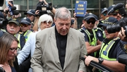 "George Pell said that he held ""no ill will"" towards his accuser (File pic)"