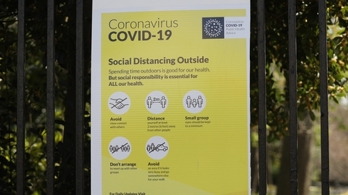 The total number of Covid-19 cases in the Republic of Ireland has risen to 8,928