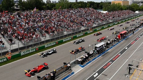 The Canadian Grand Prix was due to take place in Montreal in June