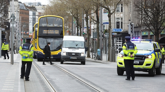 Gardaí to set up checkpoints to curb Easter travel