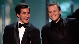 Jake Gyllenhaal and Heath Ledger