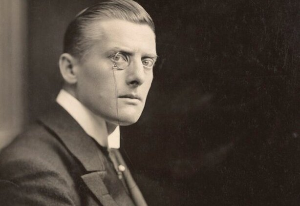 Austen Chamberlain, the Chancellor of the Exchequer, announced the details of his new budget yesterday Photo: © National Portrait Gallery, London