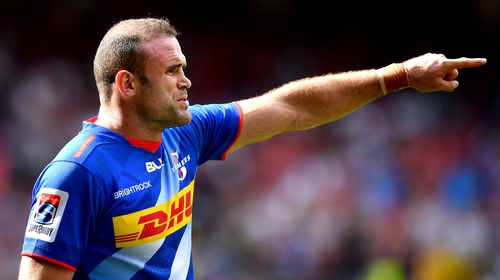 Jamie Roberts with the Stormers on his debut