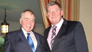 John Prine with John Creedon in 2015