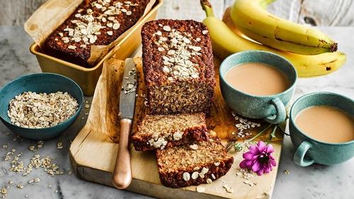 Oaty Banana Bread