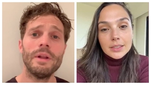 Jamie Dornan and Gal Gadot both took part in the Imagine cover