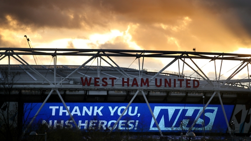West Ham say the measures will support the entire infrastructure of the club and enable us to retain jobs and continue to pay 100 per cent of staff salaries.