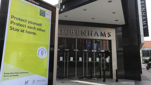 Debenhams' former staff are entitled to statutory redundancy capped at €600 per week