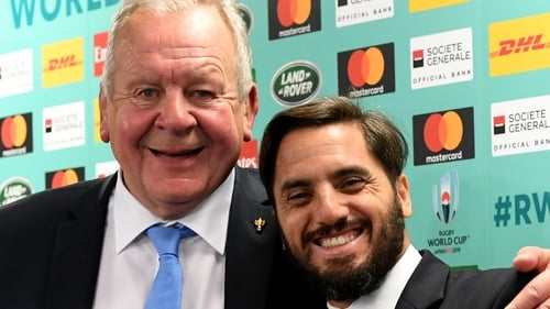 Agustin Pichot challenges Bill Beaumont for World Rugby's top job