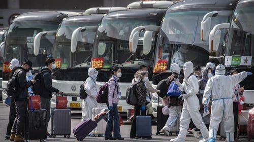 China has already implemented a 14-day quarantine period for travellers