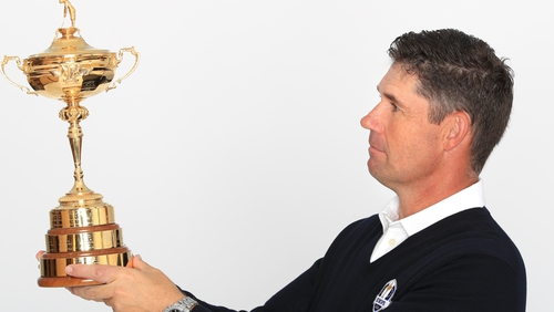 European captain Padraig Harrington will not get to lead his team into battle at Whistling Straits until next year