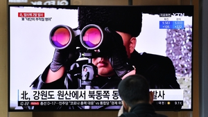 On 29 March North Korea fired what appeared to be two short-range ballistic missiles off its east coast