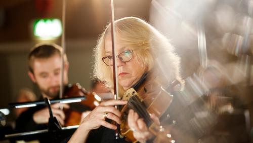 RTÉ Concert Orchestra viola player Elizabeth O'Neill (Pic Andres Poveda)