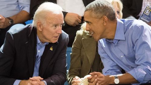 Joe Biden served as Barack Obama's vice president