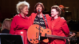 Maura O'Connell, Eleanor McEvoy, Wallis Bird and the RTÉ Concert Orchestra perform 'A Woman's Heart Orchestrated' at the National Concert Hall.