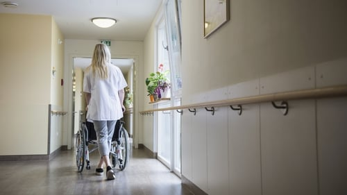 More than half of the deaths from the virus in this country have been associated with nursing homes (File image)