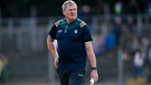 Leitrim manager Terry Hyland