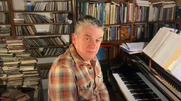 The renowned composer and director of Cór Cúil Aodha, Peadar Ó Riada