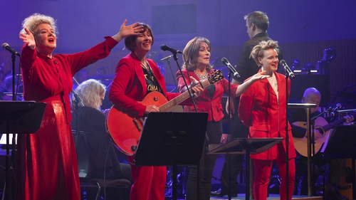 Maura O'Connell, Eleanor McEvoy, Mary Black and Wallis Bird with the RTÉ Concert Orchestra