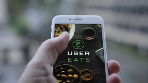 Uber Eats said orders for grocery delivery on its platform jumped 59% across Europe in March from the previous month