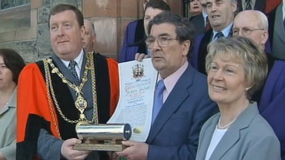 Derry Honours John Hume